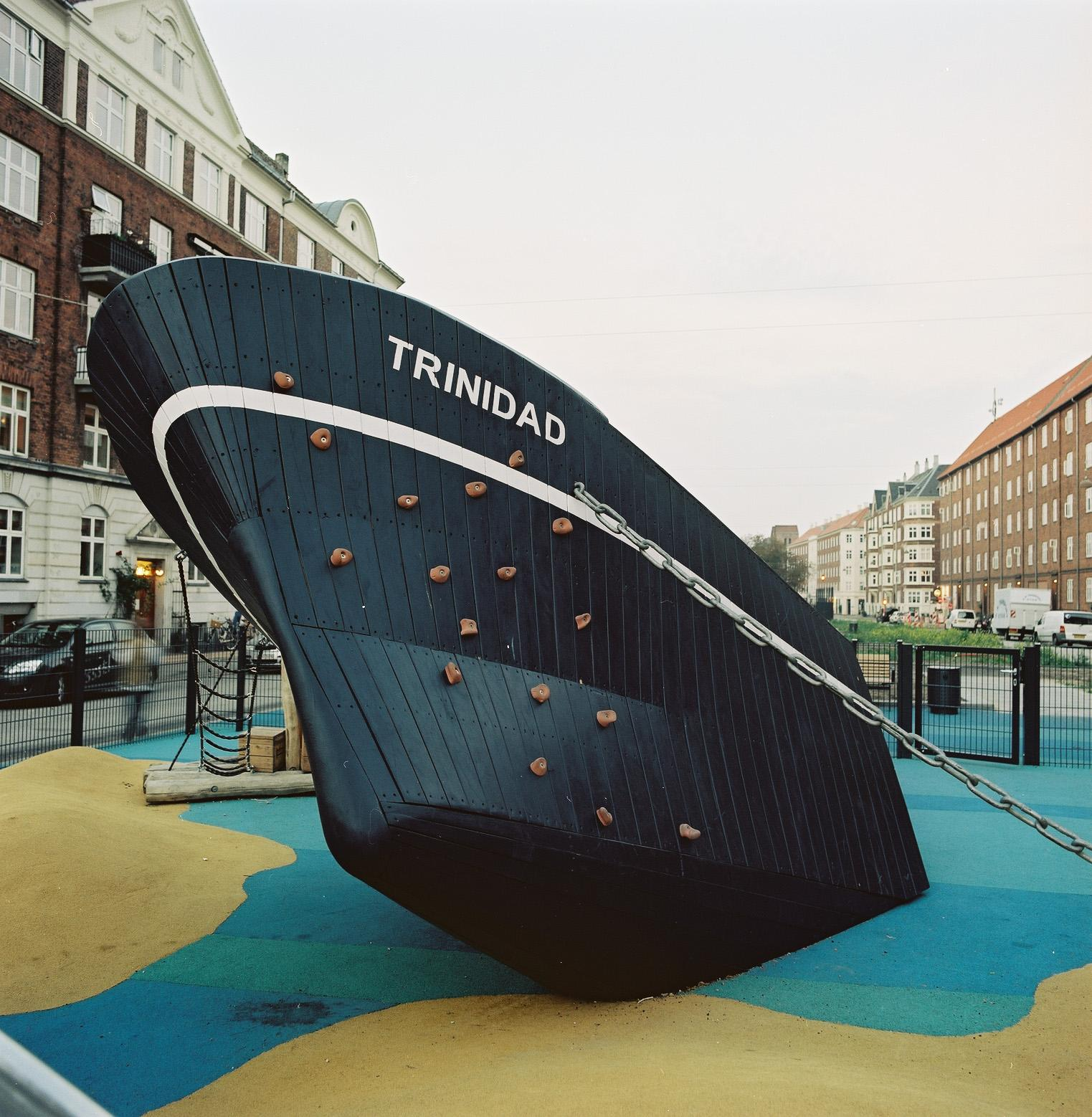 Trinidad coaster ship monstrum copenhagen playground
